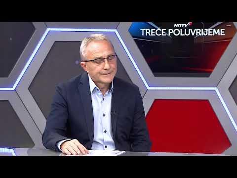 "Josip Brezni u ""Trećem poluvremenu"" HNTV-a"