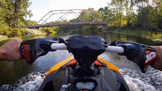 4. My First Time On A Seadoo | Test Driving 2018 Spark Trixx