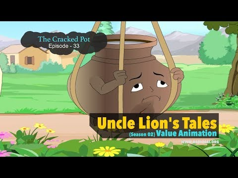 The Cracked Pot (Episode - 33) - Uncle Lion's Tales | Sathya Sai Teachings