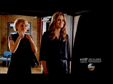 """Castle 8x05 """"The Nose"""" Sniff Lady Smells Beckett & Suspects Season 8 Episode 5"""