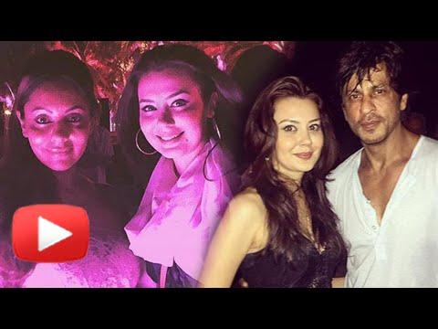 Gauri Khan and Shahrukh Khan Party in Goa