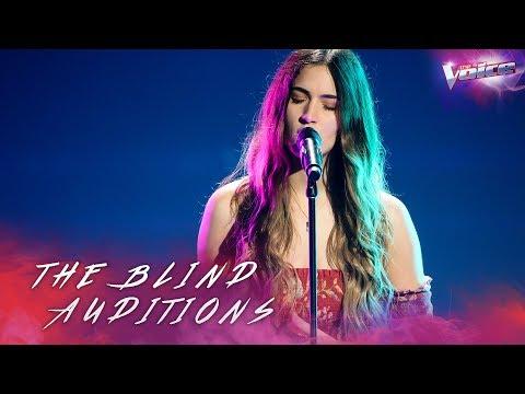 Video Blind Audition: Zoe Tsagalis sings Liability | The Voice Australia 2018 download in MP3, 3GP, MP4, WEBM, AVI, FLV January 2017