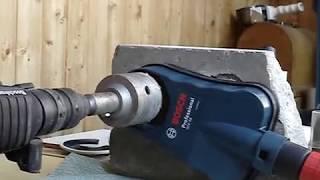 05   Bosch GDE 68 коронка по бетону