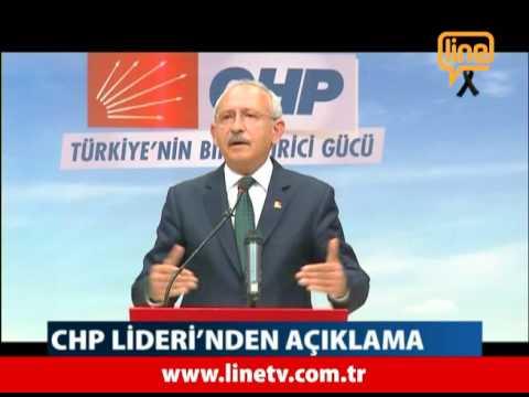 Chp Lideri'nden Açıklama   -11 Ekim 2015-  Ankara Terör Saldırısı