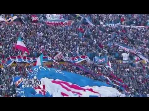 Recibimientos de la HINCHADA DE NACIONAL (clásicos y final con defensor) - La Banda del Parque - Nacional