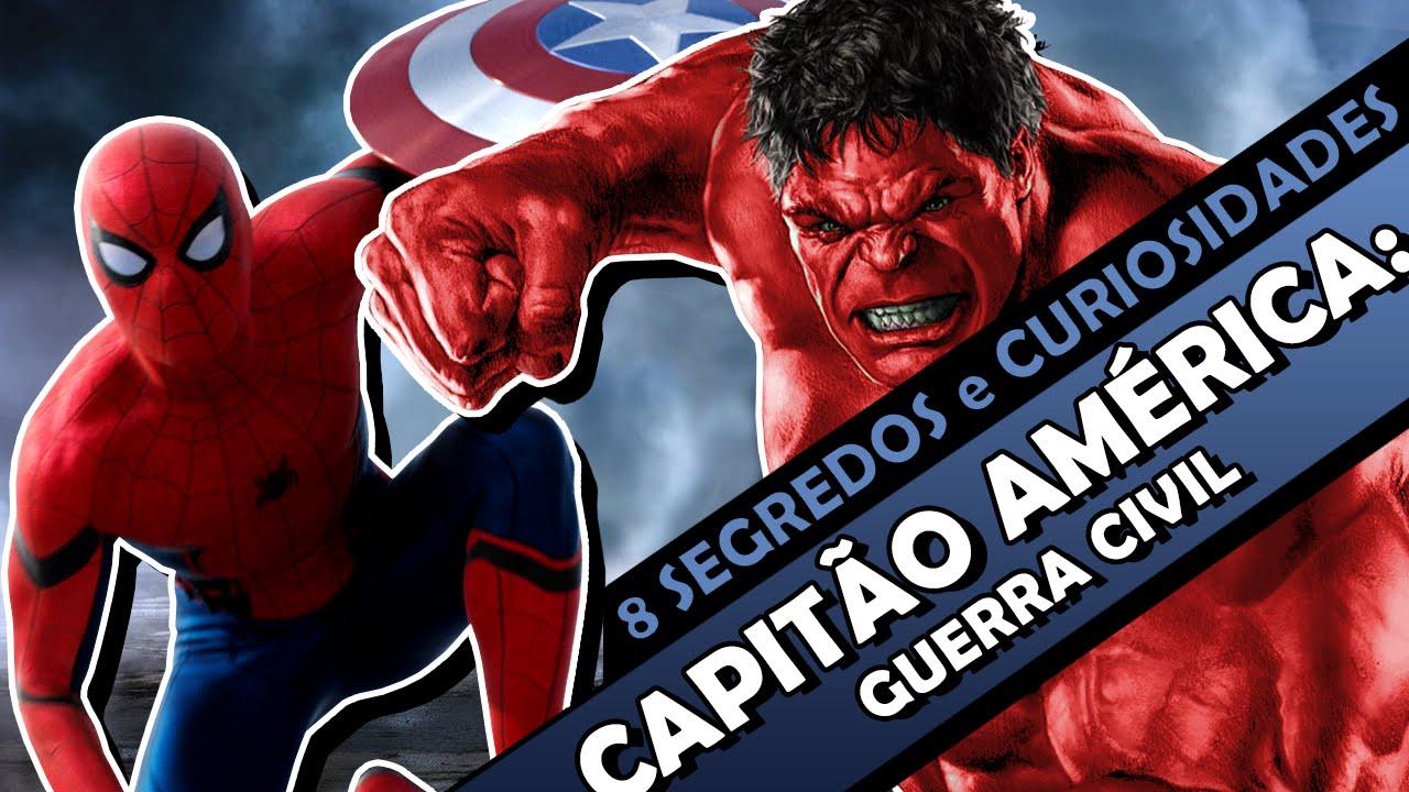 Capitão América: Guerra Civil - 8 segredos e curiosidades