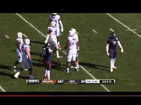 Max Valles sack vs BYU 2014 video.