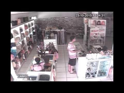 Furto em loja no centro de Palotina