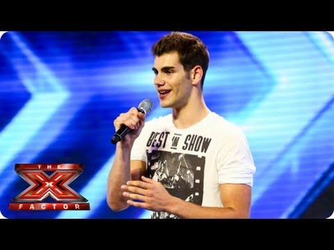 Alejandro sings Hero by Enrique Iglesias – Arena Auditions Week 1 – The X Factor 2013