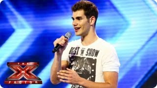 Video Alejandro sings Hero by Enrique Iglesias - Arena Auditions Week 1 - The X Factor 2013 MP3, 3GP, MP4, WEBM, AVI, FLV September 2018