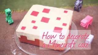 How to Decorate a Minecraft Cake