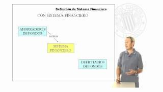 Definición de sistema financiero