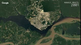 Manaus Brazil  city images : Google Timelapse: Manaus, Brazil