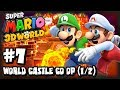 Super Mario 3D World Wii U - (1080p) Co-Op Part 7 - World Castle (1/2)