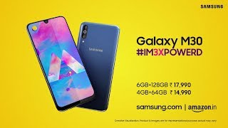 Samsung Galaxy M30 : Official Introduction