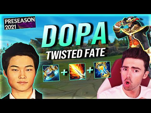 DOPA IS ABUSING THIS NEW ITEM ON TWISTED FATE??? Season 11 Preseason
