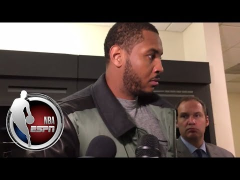 Video: Carmelo Anthony explains why he will not get angry over his ejection | NBA on ESPN