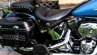 7. 2011 Harley Davidson Heritage Classic Python Slip On Exhaust.