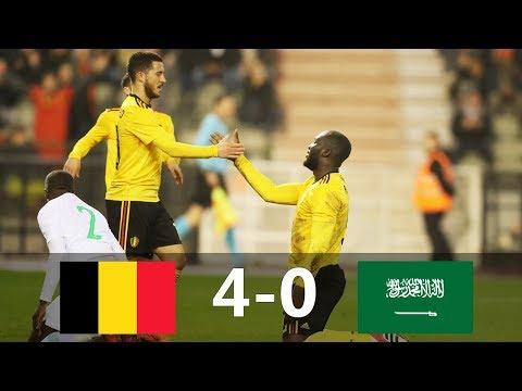 Belgium vs Saudi Arabia 4-0 - All Goals & Extended Highlights - Friendly 27/03/2018 HD