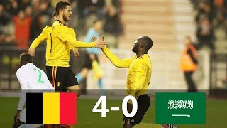 Video Belgium vs Saudi Arabia 4-0 - All Goals & Extended Highlights - Friendly 27/03/2018 HD MP3, 3GP, MP4, WEBM, AVI, FLV Juli 2018