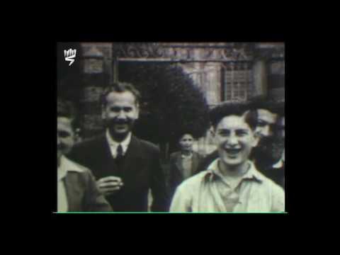 De jeunes Juifs libérés de Buchenwald accueillis dans une maison de l'OSE, juin 1945