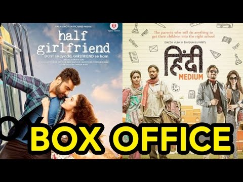 BOX OFFICE: Half Girlfriend V/S Hindi Medium