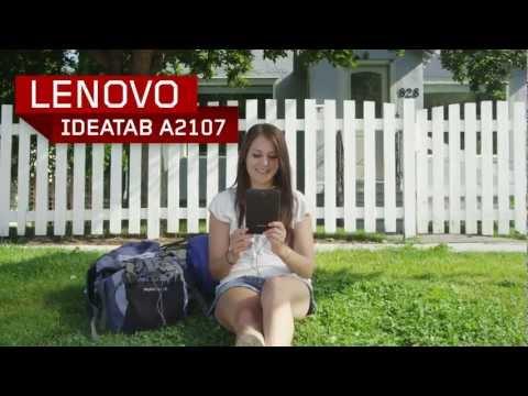 Lenovo IdeaTab A2107 Tablet Tour