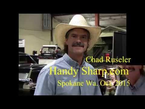 Chad Ruseler at the Man Show in Spokane Washington