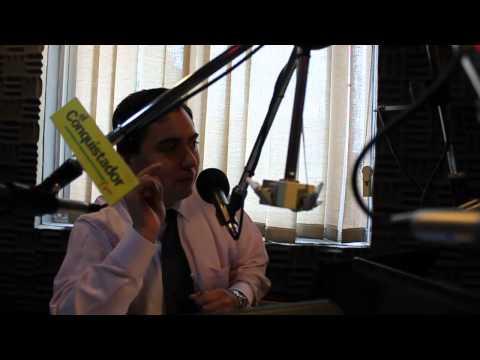 Entrevista Marcos Clark - Radio El Conquistador - Hector Veloso