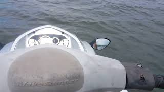 8. FINILY WE ARE ON THE WATER WITH 2009 YAMAHA VX CRUISER FIST TEST DRIVE.