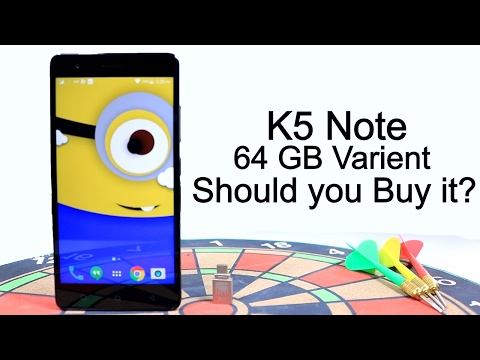Lenovo K5 Note 64GB Should u Buy it ? Mini Review after 1 Year