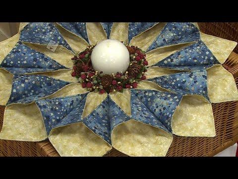 patchwork - centrotavola natalizio