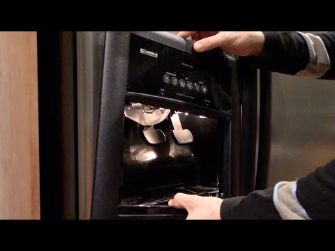 Ice maker or water dispenser not working – Refrigerator repair – Kenmore Whirlpool