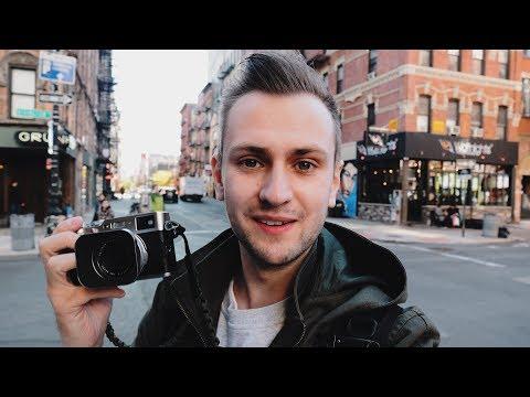 FUJIFILM TRAVEL PHOTOGRAPHY — New York LES + Empire State