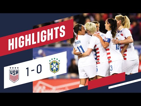 WNT vs. Brazil: Highlights - March 5, 2019