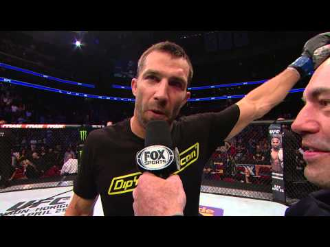 Fight Night New Jersey: Luke Rockhold Octagon Interview