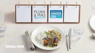 REMA 1000 Plukk & Miks - Middag på 1-2-3!