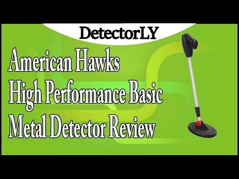 American Hawks High Performance Basic Metal Detector Review