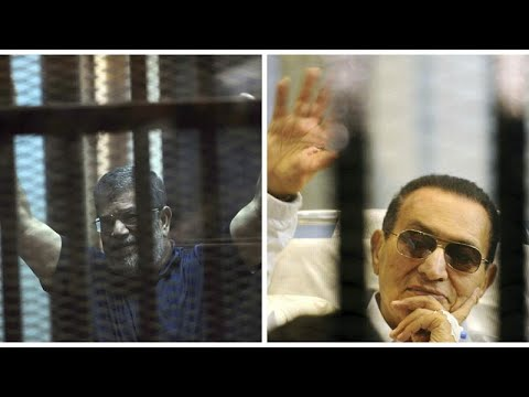 Ägyten: Zwei abgesetzte Präsidenten vor Gericht - Mubarak sagt gegen Mursi aus
