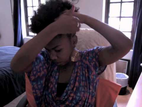 Natural Hair & The Side Puff