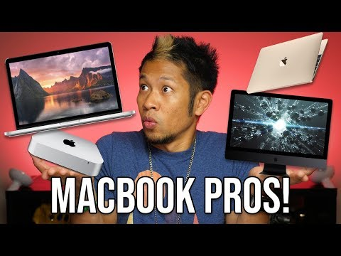 Details on the new 2018 MacBook Pros! Mac mini refresh coming soon!