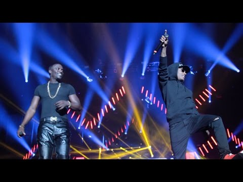 Watch Akon & Wizkid's Performance At The Dance Afrique