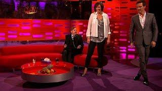 Miranda & Benedict Cumberbatch demo a pop star walk - The Graham Norton Show: Series 16 - BBC One