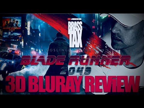 Blade Runner 2049 3D Bluray Review