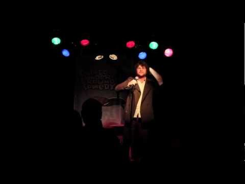 Jeff Hansen 1-8-13 at Chicago Underground Comedy