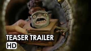 Boxtrolls - Le scatole magiche Teaser Trailer Italiano 'Backstage' (2013) - Movie HD