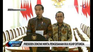 Video Presiden Jokowi Minta Pegesahan RUU KUHP Ditunda MP3, 3GP, MP4, WEBM, AVI, FLV September 2019