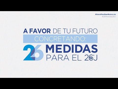 26 medidas para el 26J