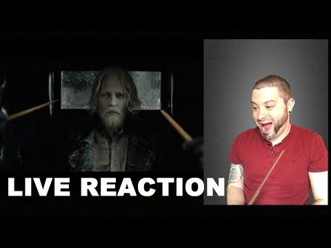 Fantastic Beasts 2 the Crimes of Grindelwald Trailer Reaction