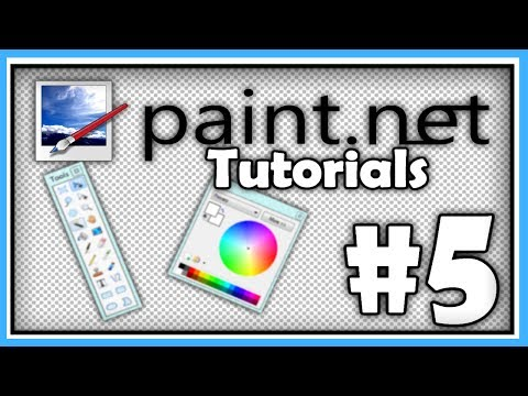 PAINT.NET TUTORIALS - Part 5 - More Tools, YouTube Banners and Gradient Filled Text
